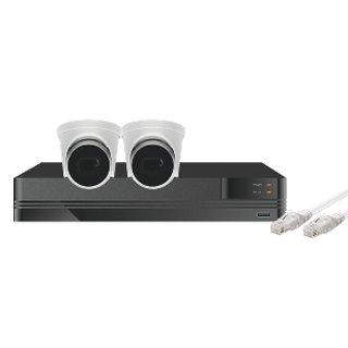 Kestrel Videoüberwachungs Kit 5MP mit 2 oder 4 Kameras