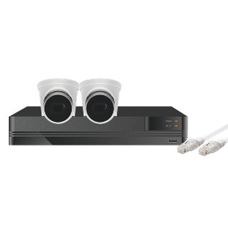 Kestrel Videoüberwachungs Kit 8MP mit 2 oder 4 Kameras
