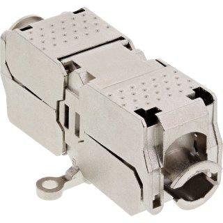 InLine® Kabelverbinder Cat.6A, mit LSA-Technik, geschirmt