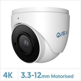 QVIS 8MP/4K Viper IP Motorised Lens Turret Camera