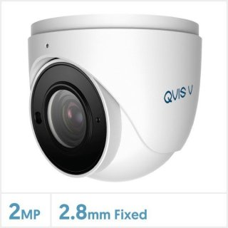 QVIS 2MP Starlight IP-Kamera mit festem Objektiv